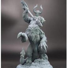 Unpainted Figure Building-Kit Model-Unassambled Fantasy Resin 178mm Include-2-Styles