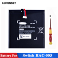 HAC-001HAC-003 запасное зарядное устройство запасная часть батареи для переключателя Nitendo консоли 3 7 V 4310mAh батареи