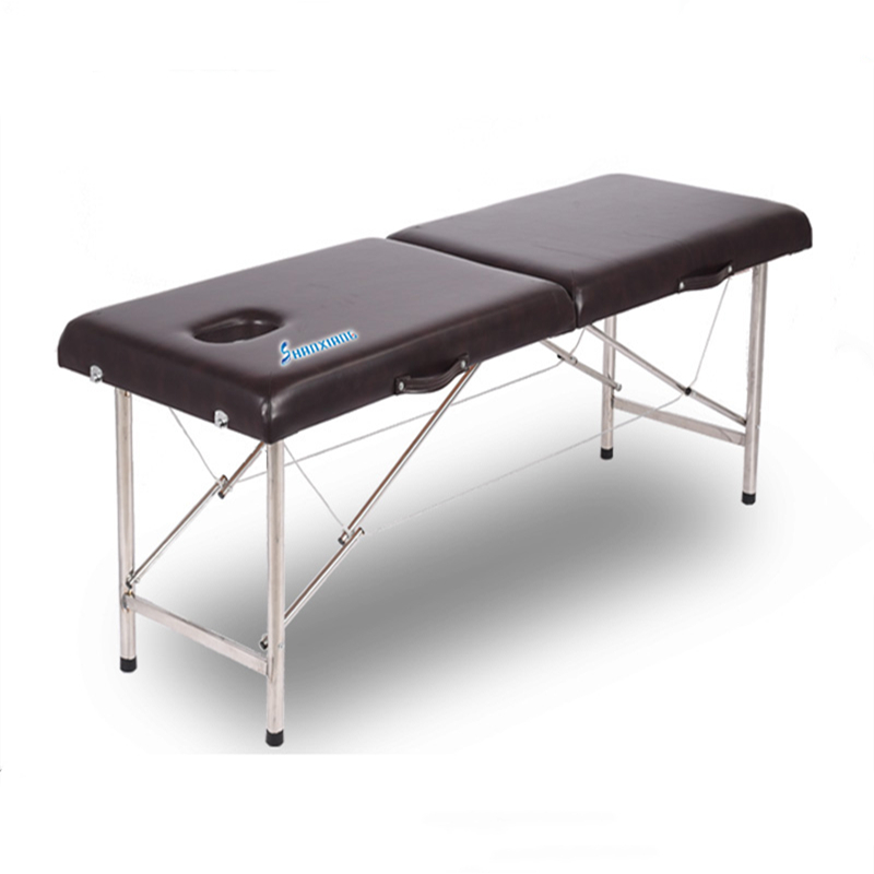Portable Portable Foldable Massage Bed Family Beauty Bed Physiotherapy Push To Take Ai Acupuncture Embroidery Bed