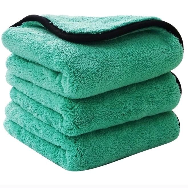 Супермягкое полотенце из микрофибры, 40 х40 см, г/кв. М