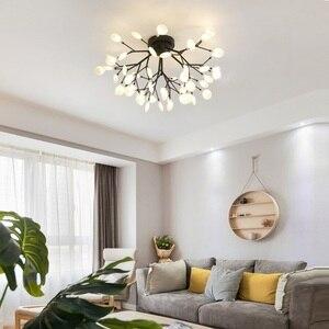 Image 4 - Lámpara Led De araña para Techo, iluminación moderna, lámparas De Techo, luminaria De suspensión, AC110V/220V
