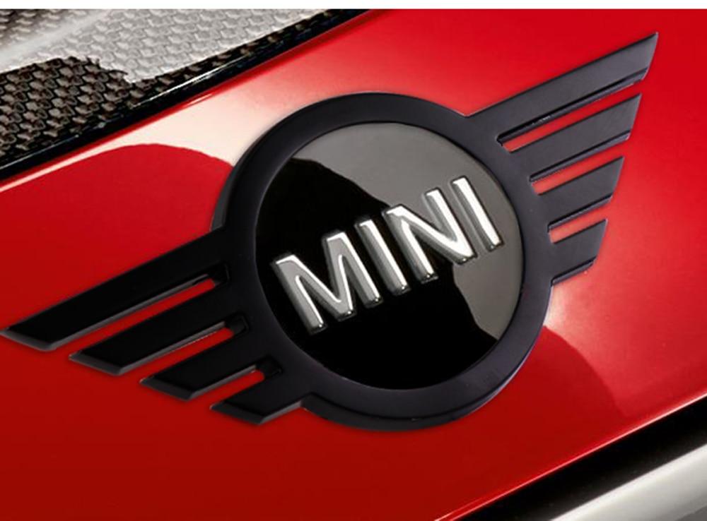 logotipo, porta-malas, mini cooper, jcw s f54