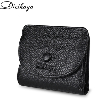 DICIHAYA Women's Wallet Small And Slim Leather Purse Women Wallets Cards Holders Short Women Coin Purse Small Ladies Wallet