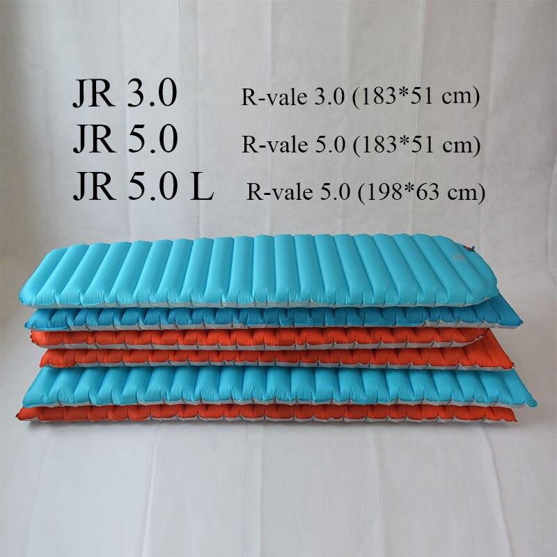 Image 5 - Коврик для сна JR Gear R 5,0 PrimaLoft, влагостойкий надувной  воздушный коврик для кемпингаinflatable air matair matjr gear -