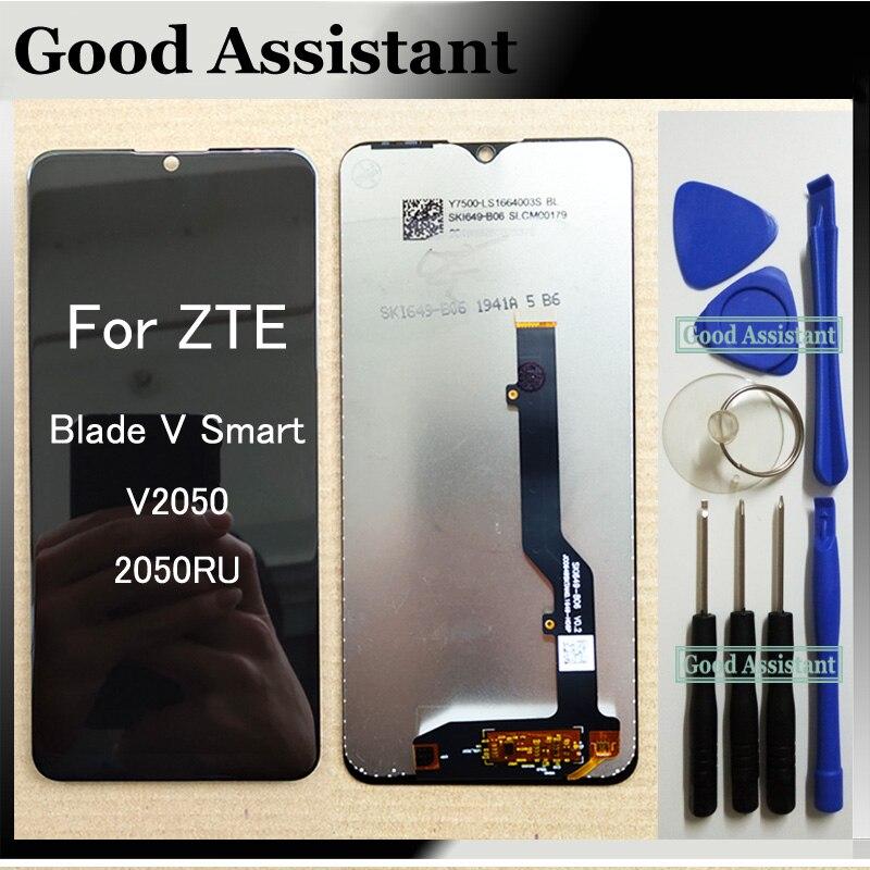 Оригинальный ЖК-дисплей для ЖК-дисплея ZTE Blade V смарт V2050 2050RU ЖК-дисплей Дисплей кодирующий преобразователь сенсорного экрана в сборе для ZTE ...