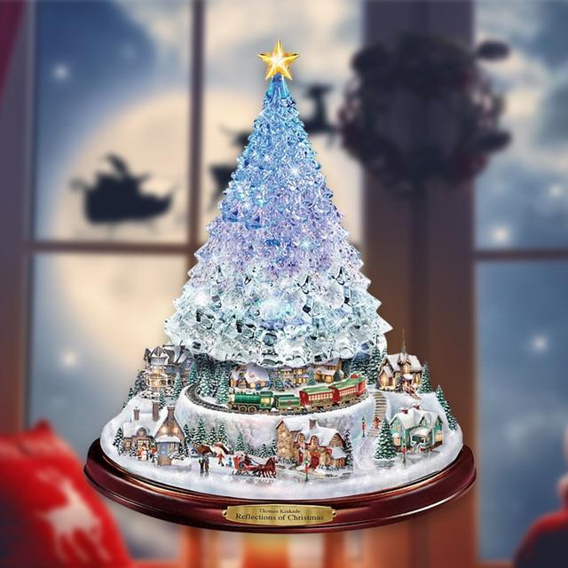Paintings Wonderland Express Christmas Tree 2