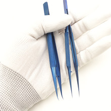 Pinças ferramenta de manutenção profissional 0.15mm borda precisão pinças de impressão digital placa liga titânio voar pinças fddsyb