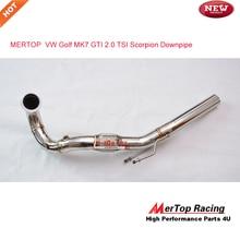 MERTOP Racing MK7 2,0 TSI Se at Le on Cupra 5F RS 5E TFSI нисходящий трубопровод 2013+ Catless
