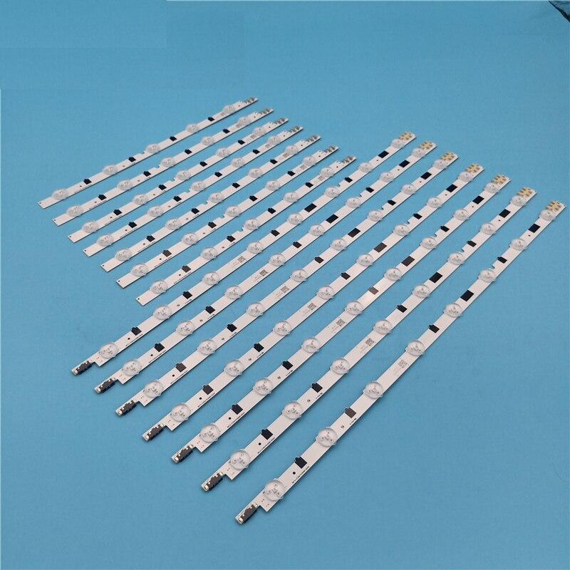 Tira de luz LED para BN96-25300A UA32F4088AK UE32F5020AK BN96-25299A D2GE-320SC0-R3 HF320CSA-B1 HF320BGA-B1 UE32F5000AK UE32F5300AK Tira de LED para iluminación trasera para Samsung 39