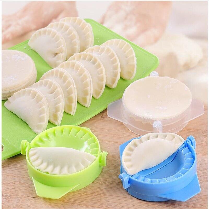 1PCS Kitchen Tools Plastic Dumplings Modelling Manual Pinch Clip Artifact Food Grade Items Mold 9*10.5CM