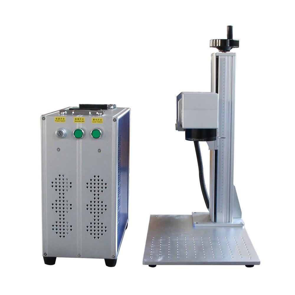 Fiber Laser Marking Machine 20w 30w 50 Metal Laser Engraver  Raycus Laser Source BJC Main Board Metal Laser Printer