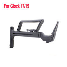 Stock rétractable tactique EA TAC repliable pour Glock 17/19