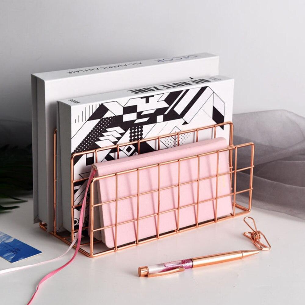 escritorio ouro rosa bloco livro metal tres 02