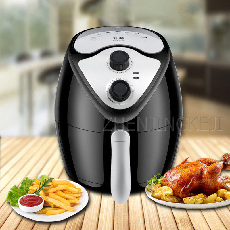 Home Air Fryer Without Oil Smoke Commercial Nonstick Pan French Fries Machine Multicooker Electric Fryer Airfryer For Kitchen