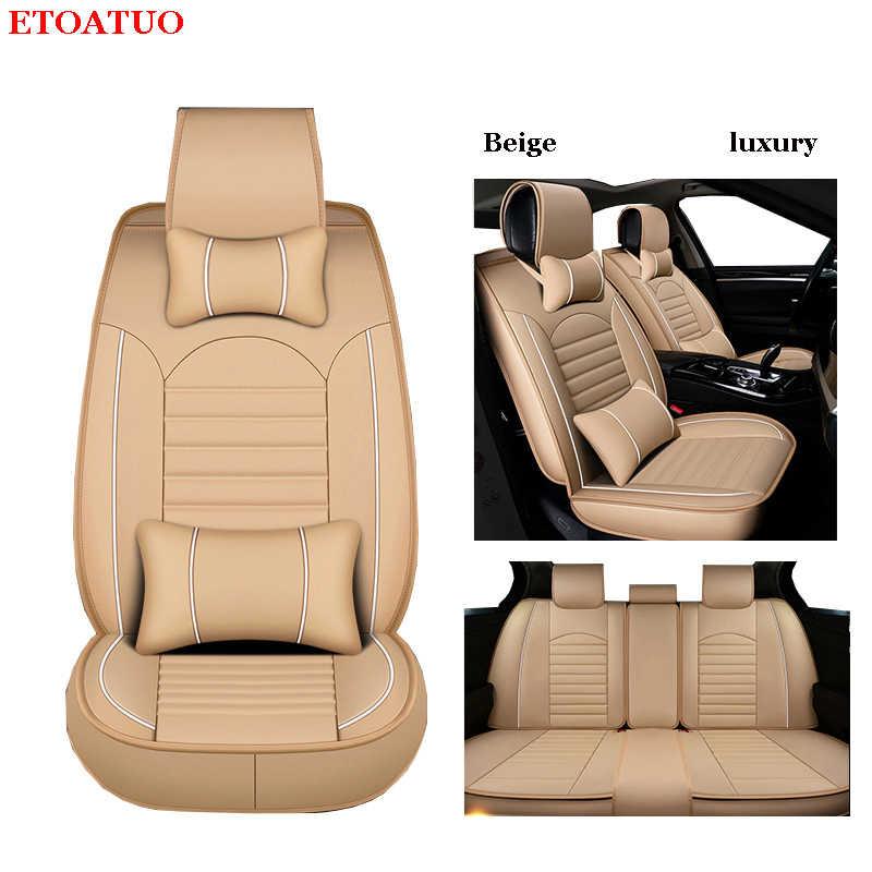 Funda de asiento de coche de cuero ETOATUO para infiniti qx70 fx qx60 fx37 qx50 ex qx56 q50 q60 qx80 g35 todos los modelos de accesorios para coche