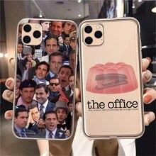 Michael Scott-funda de teléfono de TPU para iPhone, funda de teléfono de Humor divertido 5 Suave para iPhone XR X XS 11 12 Pro Mini Max 7 8 6 2020SE