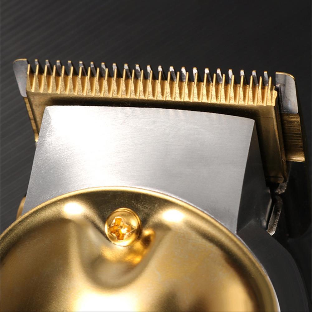 Máquina de cortar cabelo profissional conjunto sem