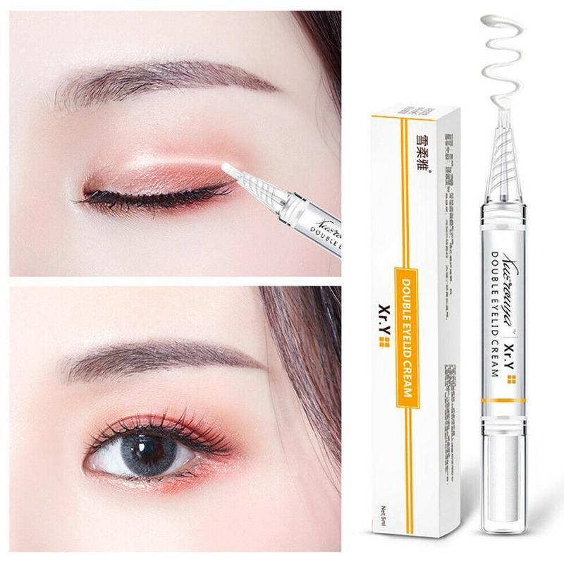 New 5ml Invisible Double Eyelid Styling Cream Natural Permanent Lasting Invisible Double Eyelid Shaping Gel Women Eye Lift Cream