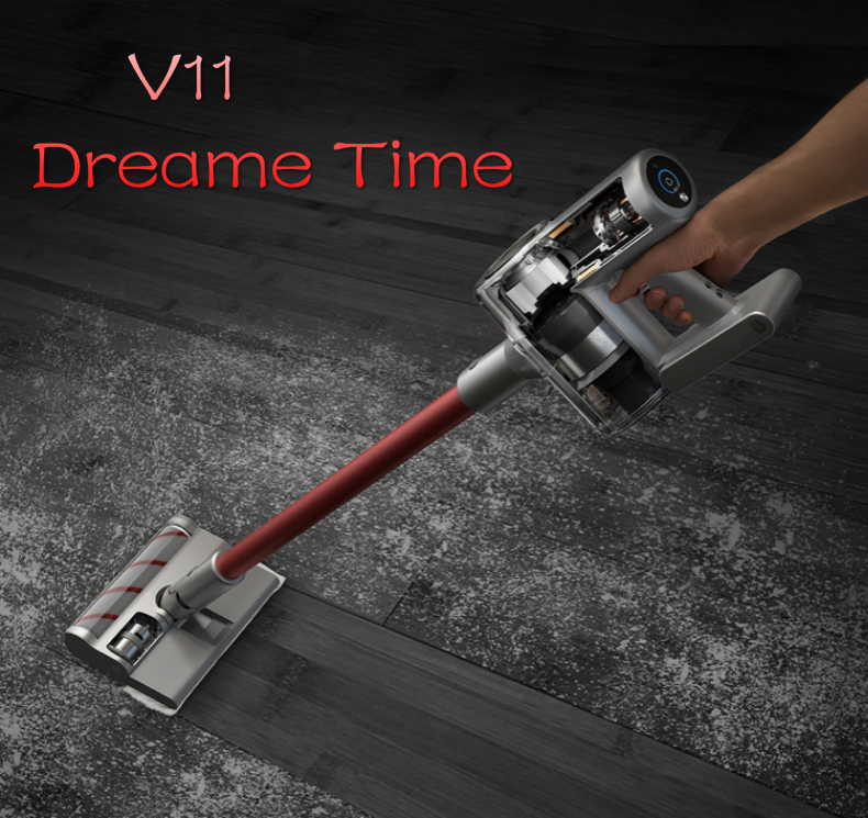 The Latest Dreame Wireless Vacuum Cleaner V11 Household Small Handheld Carpet Cleaner 25KPa 150AW