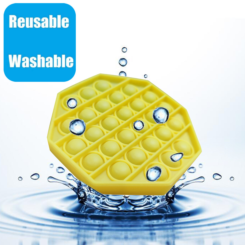 Figet Toys Stress-Ball Autism Soft-Squeeze-Toy Push Bubble Popit Special Kids Sensory-Toy img5
