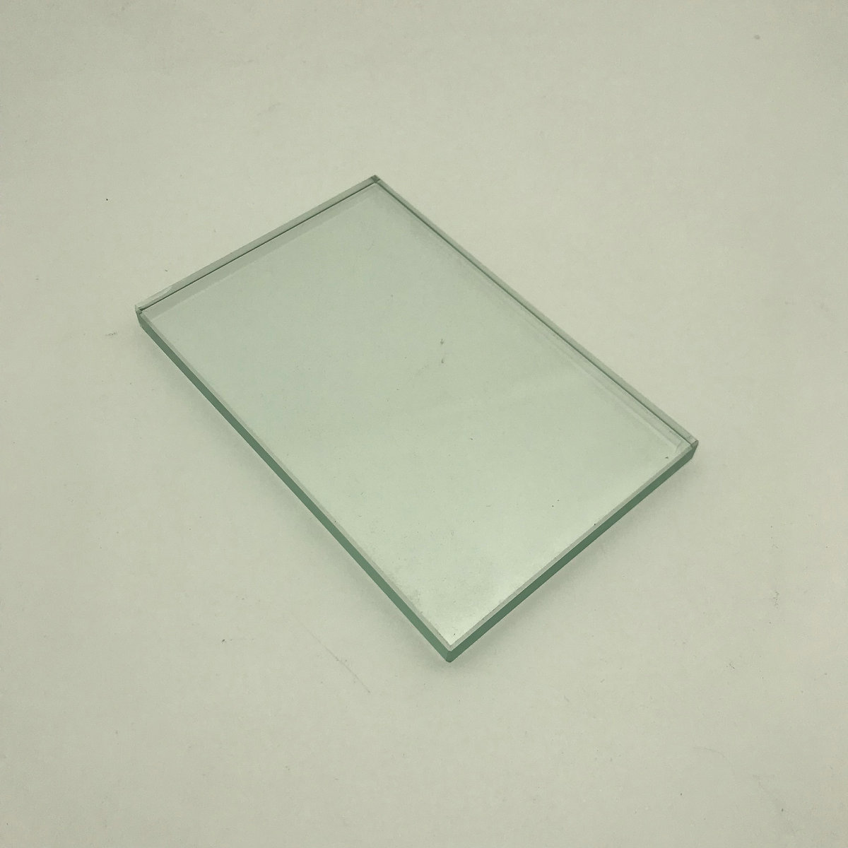 Dental Lab Mixing Glass Slab Glass Plate Board Size 124*78*7mm For Dental Mater