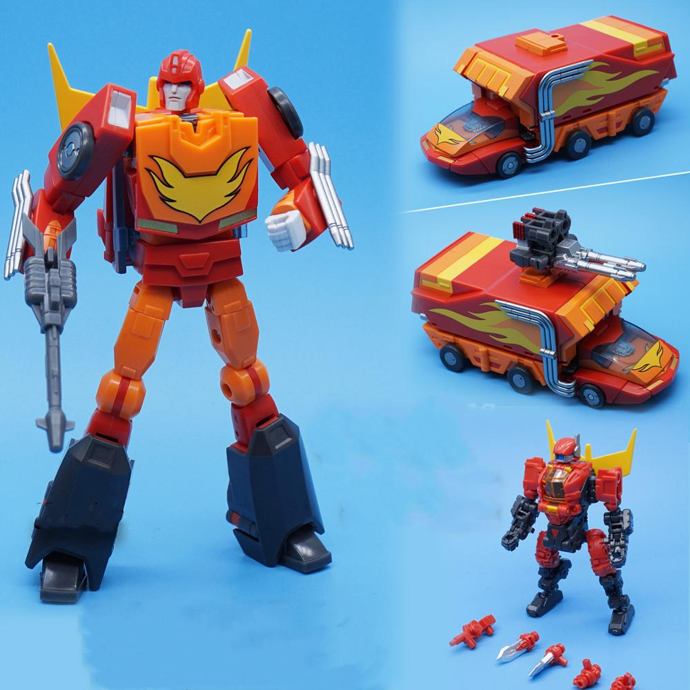 MFT Transformation Rodimus Prime Pioneer MS19 MS-19 Action Figure Robot With Box