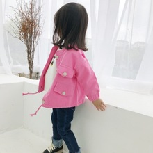 Girls coat Childrens jacket for childrens spring and autumn clothes kids 2019 Korean Edition girls jackets