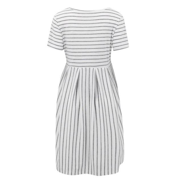 LONSANT Simple Maternity Dresses 5