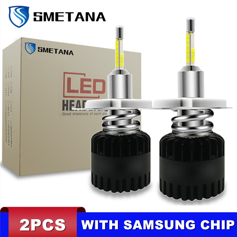 2Pcs H7 H11 LED Bulbs With SAMSUNG Chips H4 H1 H8 H9 9005 9006 Led Car Headlight D1S D2S D3S D4S Led Headlamp 360° Shine 11200LM