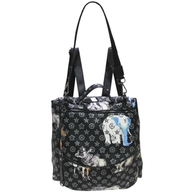 Luxury Brand Animal Print Backpack Female 2019 New Oxford Waterproof Backpack Shoulder Bag Casual Wild Large Capacity Bag