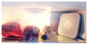 Image 4 - Youpin VIOMI VF 2CB כיכר לבן מטבח מקרר מטהר אוויר ביתי אוזון חיטוי Deodor מכשיר טעם ליבת מסנן