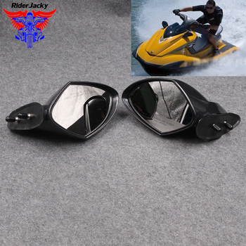 For Yamaha WaveRunner VX 110 Deluxe Cruiser Sport 2005-2009 2006 2007 2008 EX Series  Motorboat Motorcycle Rearview Mirror