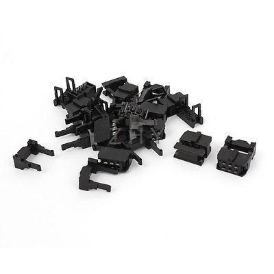 10 ensembles FC-6P 6 voies 2.54mm pas IDC femelle connecteur d'en-tête