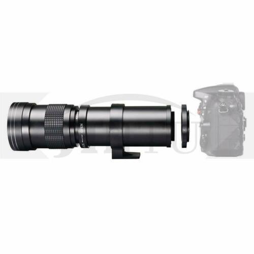 Супертелеобъектив jintu 420 800 мм f/83 16 зум объектив с ручной