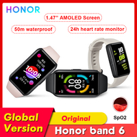Honor-reloj inteligente Band 6, pulsera con Pantalla AMOLED de 1,47