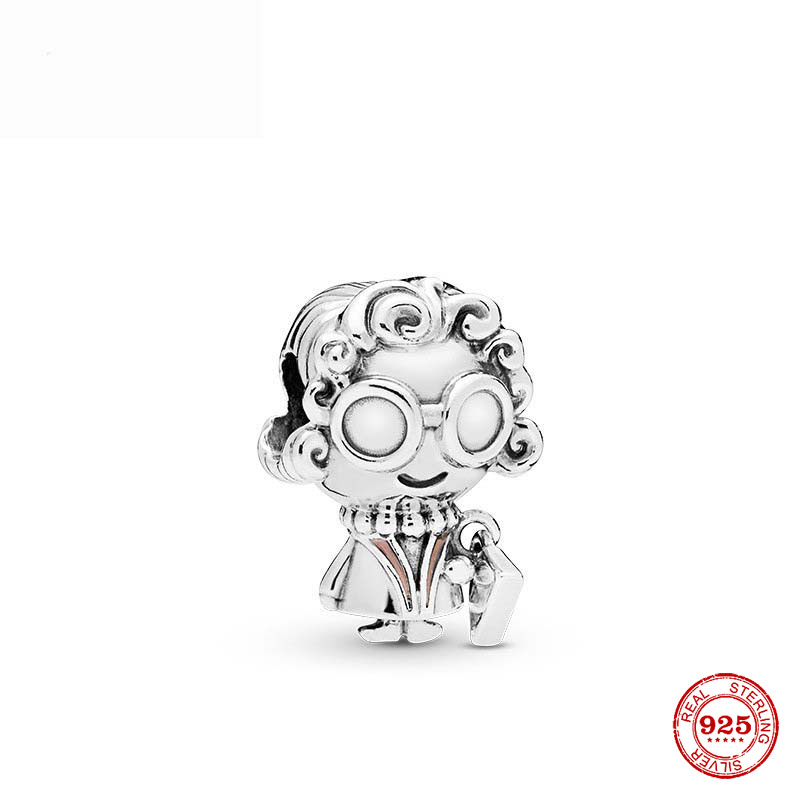 Newest European Grandma Diy Bead Charm Fit European Pandora Charms Bracelet Bangles Diy Jewelry P217 Beads Aliexpress