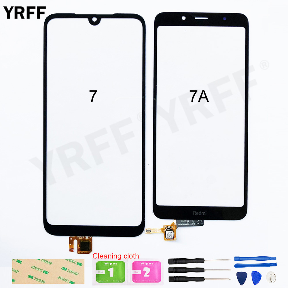 7A Touch Screen For Xiaomi Redmi 7 7A Touch Screen Digitizer Sensor Glass Panel Replacement