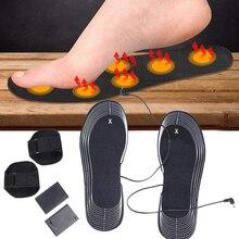 2 шт стельки с подогревом, 4,5 в, батарея, Электрический нагрев ног, обувь, стелька для обуви, носок, зимние ноги, зимние теплые рождественские стельки с подогревом