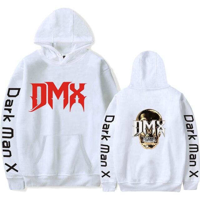 2021 DMX Hoodie Dark Man X Hoodies Unisex Hoodie Earl Simmons Casual Clothing Style Oversized Hoodie 1