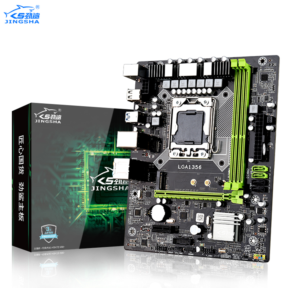 JINGSHA X79A LGA 1356 Motherboard Support REG ECC Server Memory And Xeon LGA1356 Processor