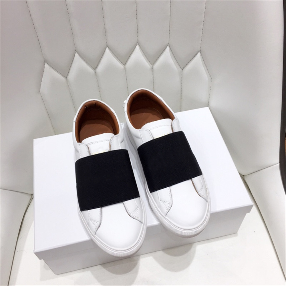 QueePace Genuine Leather Women Casual Shoes Top Quality Women Platform Sneakers White Shoes Soft Breathable Women 39 s Flats Shoes in Women 39 s Flats from Shoes
