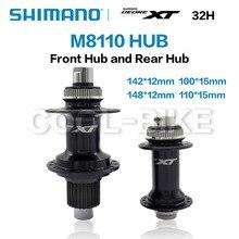 SHIMANO DEORE XT FH BH M8110 HUB 12s Hub 28H 32H Center Lock 142x12mm 100x15mm 148x12mm 110x15mm 12 speed HB-M8110 FH-M8110