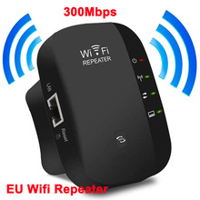 EU Wireless Wifi Repeater Wifi Long Range Extender Router Wi-Fi Signal Amplifier 300Mbps WiFi Booster 2.4G WiFi Access Point
