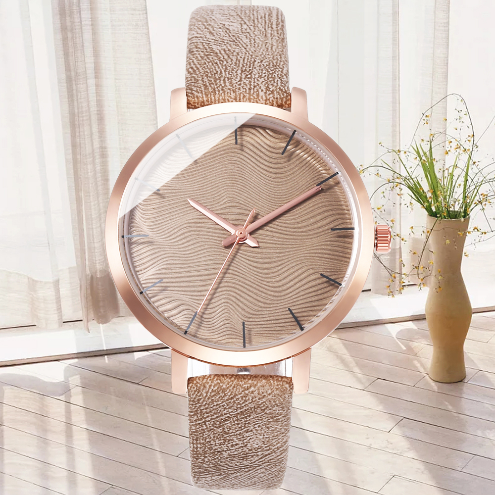 2020 Luxury Brand Dress Women Watches Fashion Bracelet Leather Wristwatch For Ladies Watch Relogio Reloj Montre Femme Gold Clock