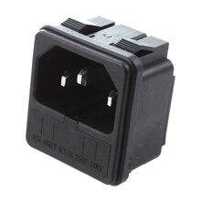 5 x IEC 320 C14 на входе штекер питания Розетки зажим тип w держатель предохранителя