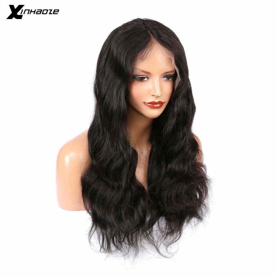 Body Wave 13x6 Lace Frontal Wigs Pre Plucked With Baby Hair Brazilian Human Hair 13x6 Front Wig