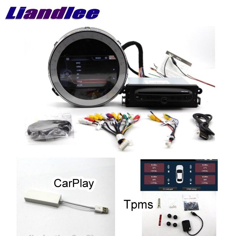 Lecteur multimédia de voiture Liandlee NAVI pour Mini Paceman One Cooper S D R61 2013 ~ 2016 CarPlay TPMS système de Navigation stéréo GPS CE