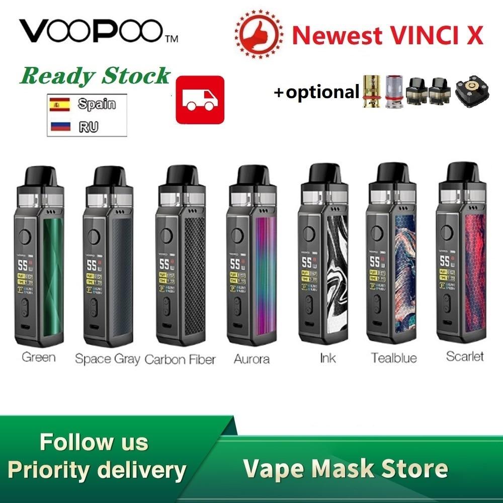 Hot Sale Original VOOPOO VINCI X 70W Pod Kit Dual-coil System 0.96Inch Screen Power By 18650 Battery Vape Kit Vs Vinci Mod Kit