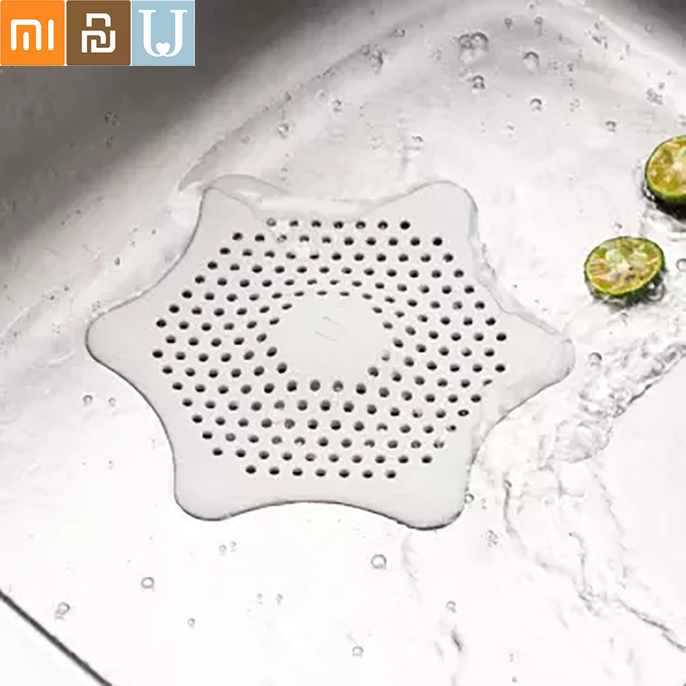 Jordan&Judy Silicone Filter Sundries Cleaning Sink Strainer Bathtub Wash Basin Sundries Filter Prevents Clogging From Xiaomi