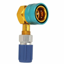 1pcs R1234yf To R134a Low Side Quick Coupler Adapters Car Air-Conditioning Installation Fitting